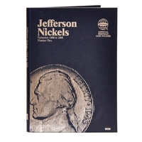 Whitman Folder #9039 - Jefferson Nickel 1962 - 1995 #2
