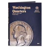 Whitman Folder #9040 - Washington Quarters 1965 - 1987 #3