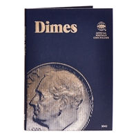 Whitman Folder #9043 - Dimes (Plain)