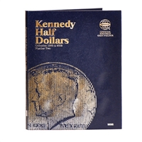 Whitman Folder #9698 - Kennedy Half Dollars 1986-2003 #2