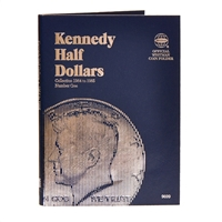 Whitman Folder #9699 - Kennedy Half Dollars 1964-1985 #1
