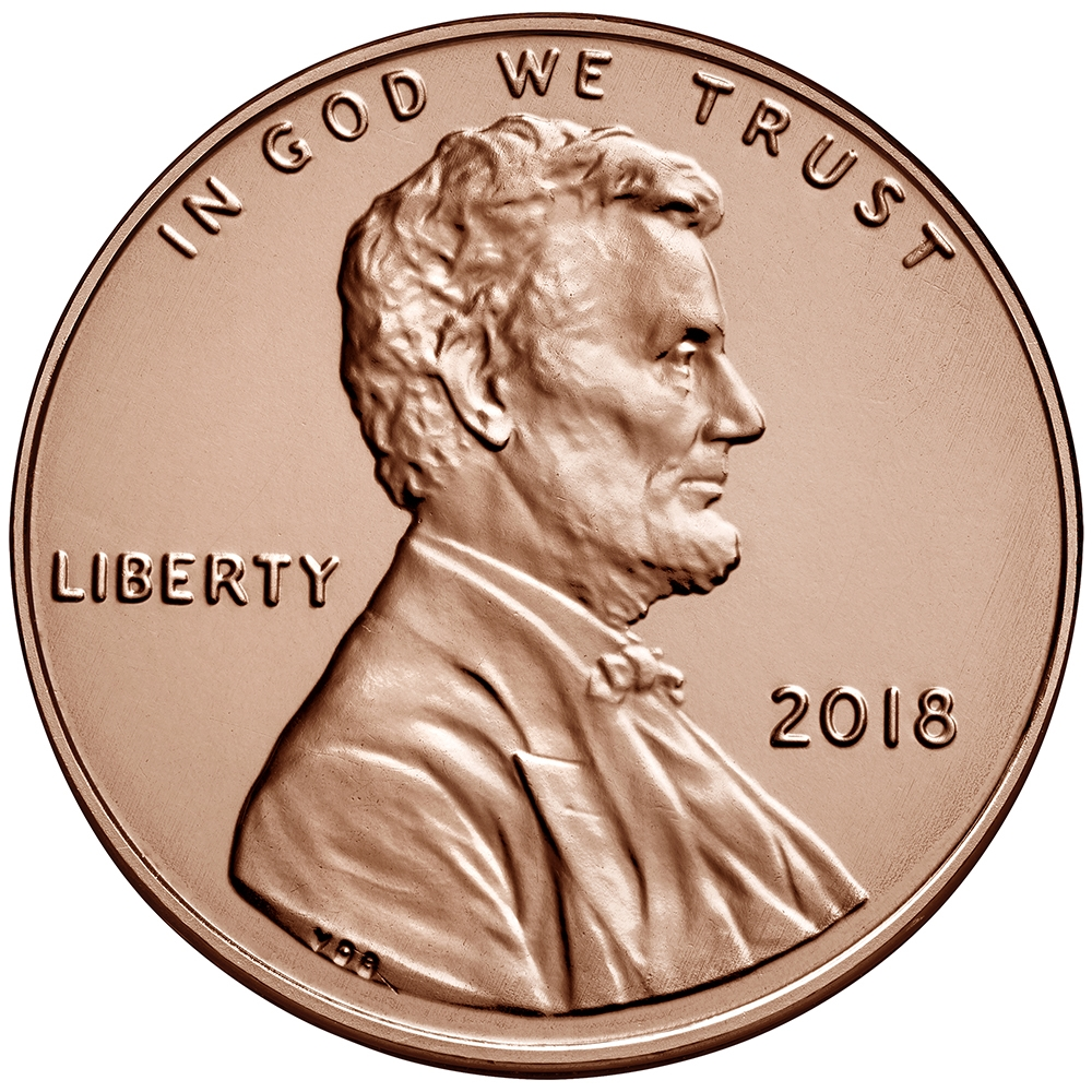 2012 P 1 Penny Lincoln Shield Cent ~ full roll of 50 mint uncirculated ~