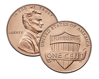 2020 - S Proof Lincoln Shield Cent - Ultra Cameo