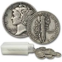 Average Circulated Mercury Dime Single Coin - Date Our Choice
