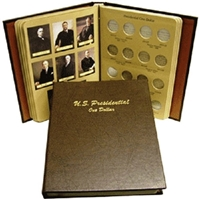 Dansco Deluxe Presidential Dollar Series P&D Album #7184