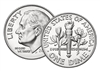 2014 P Uncirculated Roosevelt Dime 50-coin Roll