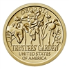 2019 American Innovation Georgia - Trustees' Garden $1 Coin - Single Coin