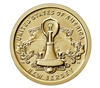 2019 American Innovation New Jersey - Edison Bulb $1 Coin - Single Coin
