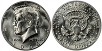 1966 P Silver Kennedy Half Dollar Uncirculated Single Coin