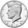 2019 S 99.9% Silver Proof Kennedy Half Dollar Single Coin