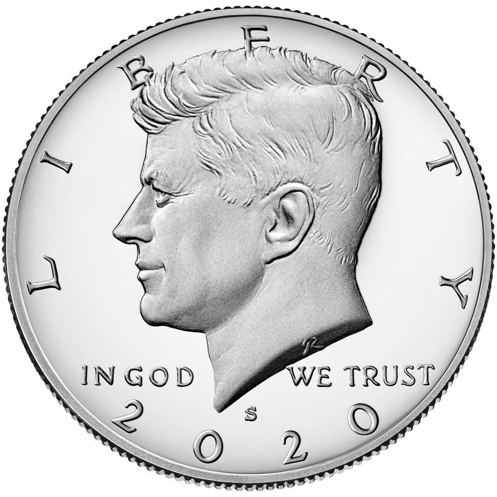 2005 S Silver Proof Kennedy Half Dollar Single Coin
