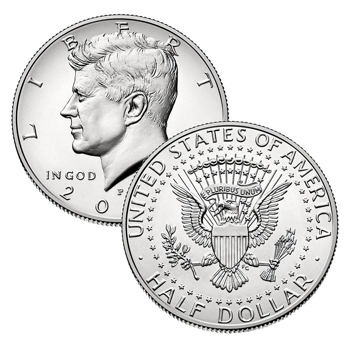 2000-P Uncirculated KENNEDY HALF DOLLAR ROLL