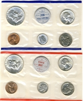 1959 U.S. Mint 10 Coin Set in OGP