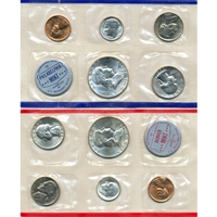 1960 U.S. Mint 10 Coin Set in OGP