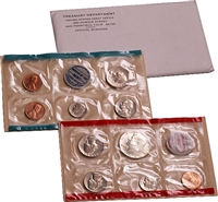 1969 U.S. Mint 10 Coin Set in OGP