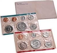 1973 U.S. Mint 12 Coin Set in OGP