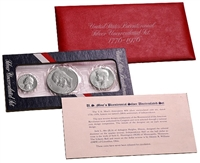 1976 U.S. Mint Set - 3 coin 40% Silver Bicentennial Comemmoratives