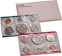 1977 U.S. Mint 12 Coin Set in OGP