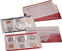 1987 U.S. Mint 10 Coin  Set in OGP with CoA