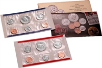1990 U.S. Mint 10 Coin  Set in OGP with CoA