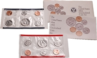 1992 U.S. Mint 10 Coin  Set in OGP with CoA