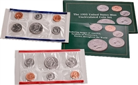 1993 U.S. Mint 10 Coin  Set in OGP with CoA
