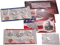 1996 U.S. Mint 11 Coin Set with Special West Point Dime