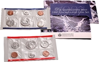 1997 U.S. Mint 10 Coin  Set in OGP with CoA