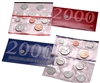 2000 U.S. Mint 20 Coin  Set in OGP with CoA