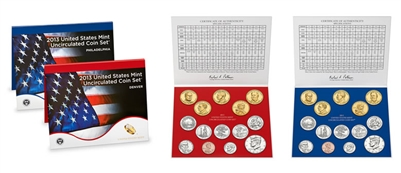 2013 U.S. Mint 28 Coin  Set in OGP with CoA