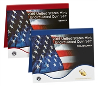 2015 P&D U.S. Mint Uncirculated 28 Coin Mint Set