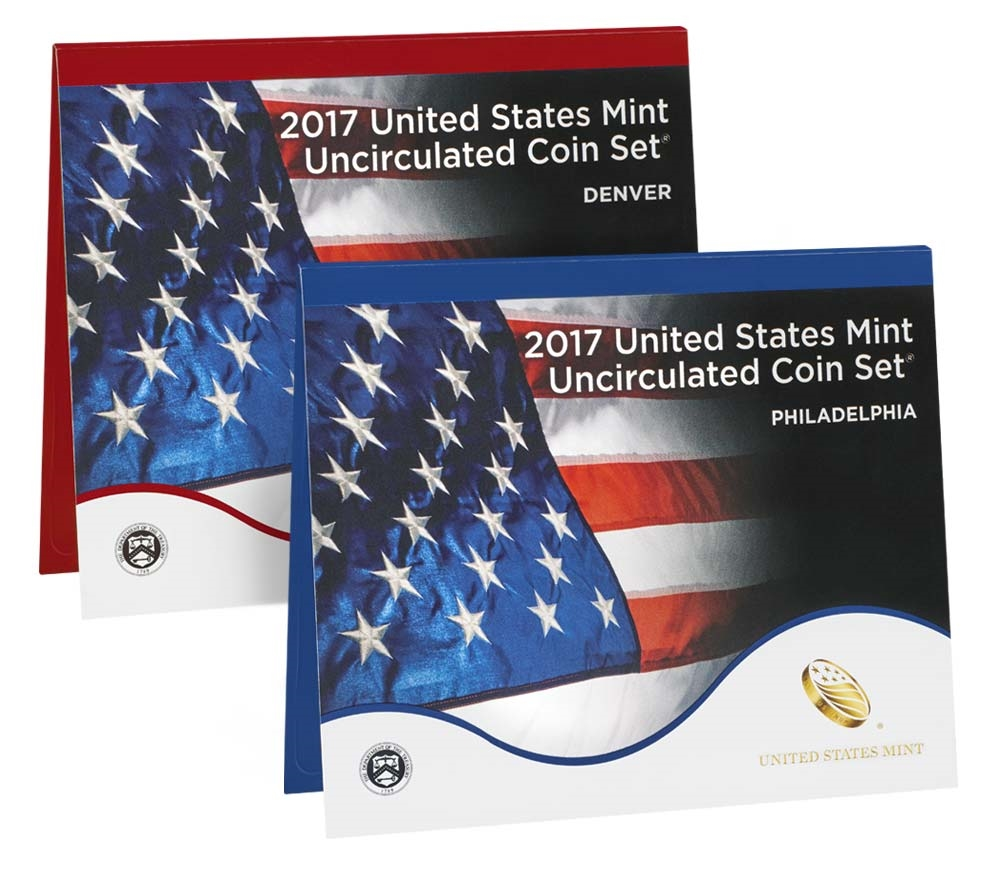 2017 P Amp D U S Mint Uncirculated 20 Coin Mint Set