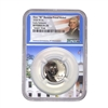 NGC REVPF70 2020 W Reverse Proof Jefferson Nickel - West Point Mint with Special White House Core