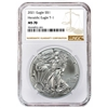 2021 NGC MS 70 Silver Eagle Brown Label
