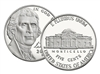 2017 - S Proof Jefferson Nickel - Ultra Cameo