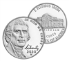 2020 W Proof Jefferson Nickel in OGP - West Point Mint