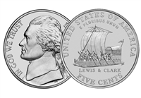 "2004 - D Jefferson Nickel Roll  ""Keel Boat"" Design"