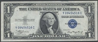 $1 U.S. Silver Certificate - 1957 or 1935 Series Circulated Note
