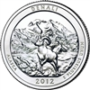 2012 - P Denali - Roll of 40 National Park Quarters