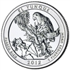 2012 - P El Yunque National Park Quarter Single Coin