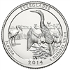 2014 - P Everglades - Roll of 40 National Park Quarters