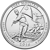 2016 - D Fort Moultrie, SD National Park Quarter Single Coin