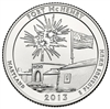 2013 - P Fort McHenry - Roll of 40 National Park Quarters