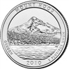 2010 - D Mount Hood National Park Quarter Single Coin