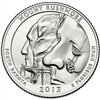 2013 - D Mount Rushmore - Roll of 40 National Park Quarters