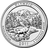 2011 - D Olympic - Roll of 40 National Park Quarters