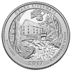 2017 - D Ozark Riverways, MO National Park Quarter Single Coin