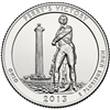 2013 - P Perry's Victory National Park Quarter Single Coin