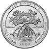 2020 - P Salt River Bay National Historical Park, VI Quarter Single Coin