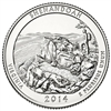 2014 - S Shenadoah - Roll of 40 National Park Quarters